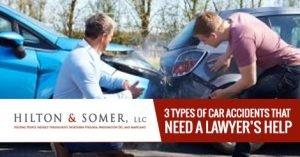 Types of Car Accidents Fairfax VA