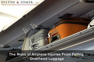 Hilton & Somer The Risks of Airplane Injuries From Falling Overhead Luggage