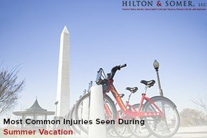 Common Injuries Summer Vacation