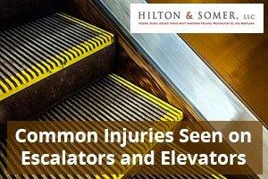 Escalators and Elevators Injuries