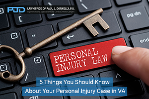 5 Things You Should Know About Your Personal Injury Case in VA