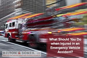emergency vehicle accident