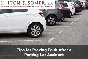 Tips for Proving Fault After a Parking Lot Accident