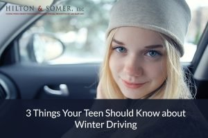 3 Things Your Teen Should Know about Winter Driving