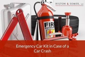 Emergency Car Kit in Case of a Car Crash