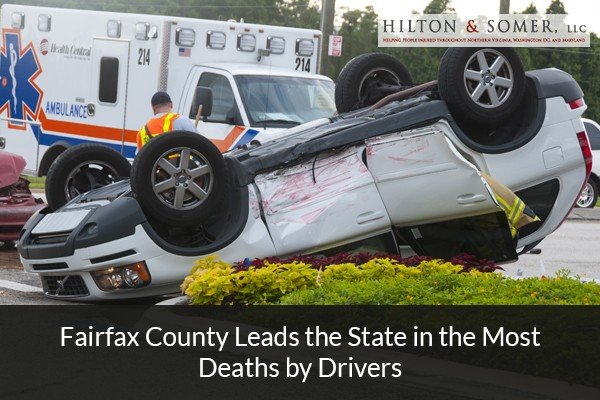 Fairfax County Leads the State in the Most Deaths by Drivers
